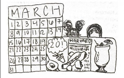 Shirah and Sarah's guide to the one day off we get in March (it's the 20th)