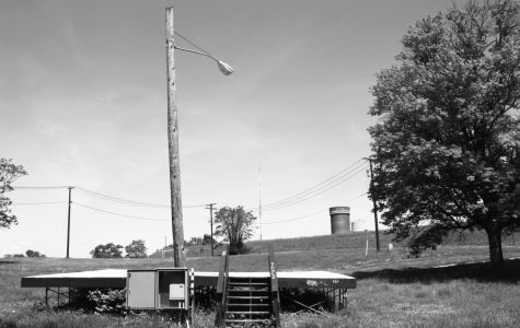 An homage to the Fort Reno stage