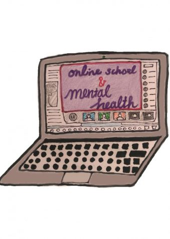 Reflections and strategies for maintaining positive mental health during the virtual semester