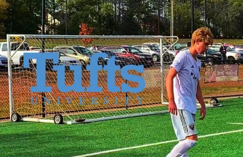 Senior Zander Wall commits to play soccer at Tufts University