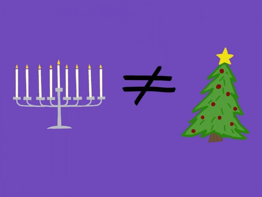 Hanukkah is not 'Jewish Christmas': stop acting like it