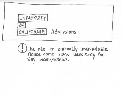 University of California site crashes the night before the deadline creating immediate panic