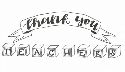 Thank you, teachers